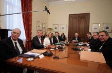 Το κοινό ανακοινωθέν της σύσκεψης των πολιτικών αρχηγών