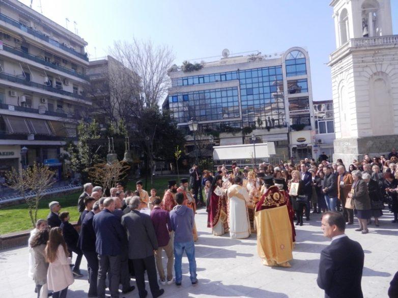 Με λαμπρότητα η Κυριακή της Ορθοδοξίας στο Βόλο