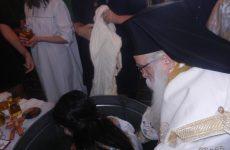 Κατηχητική Θεία Λειτουργία και ομαδική Βάπτιση στην Αργαλαστή