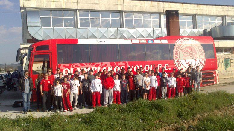 Φιλικοί αγώνες των ακαδημιών αγοριών μπάσκετ στην Καλαμπάκα