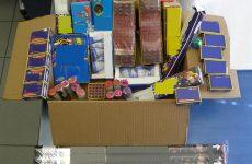 Σύλληψη 48χρονης για πώληση πυροτεχνημάτων στα Τρίκαλα