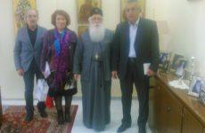 Επίσκεψη του νέου Δ/Σ της Ενώσεως Θεολόγων στον Μητροπολίτη Δημητριάδος & Αλμυρού
