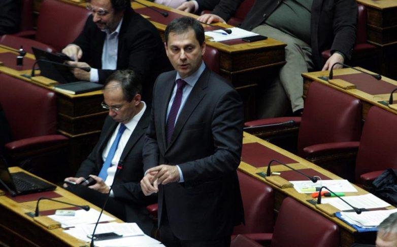 Ποτάμι: Παραιτήθηκε από κοινοβουλευτικός εκπρόσωπος ο Χ. Θεοχάρης, αναλαμβάνουν Αμυράς και Δανέλλης