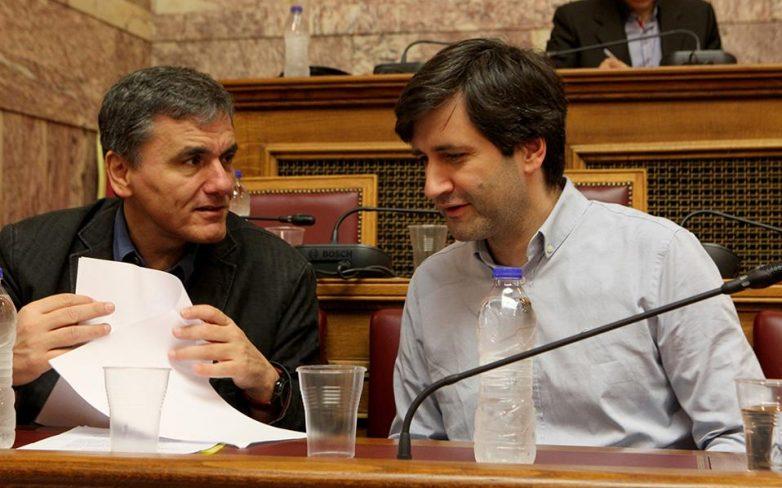 Συνάντηση Τσακαλώτου – Χουλιαράκη με αντιπροσωπεία ευρωβουλευτών