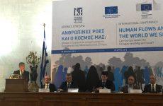Ομιλητής σε διεθνές συνέδριο για το μεταναστευτικό ο πρόεδρος της ENΠΕ