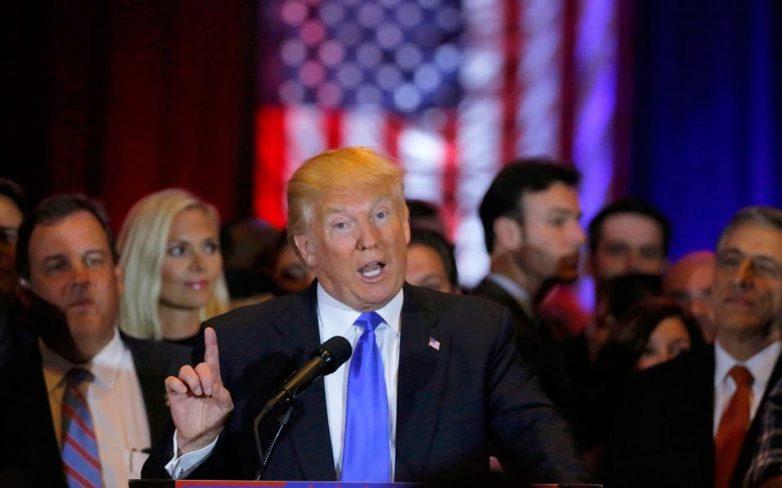 ΗΠΑ: Εκτιμήσεις για νίκες Τραμπ και Χ. Κλίντον