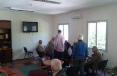 Επίσκεψη Αχ. Μπέου στο ΚΑΠΗ Αγ. Βασιλείου