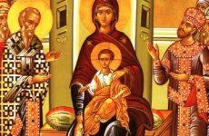 Υποδοχή του Τιμίου Ξύλου στον Άγιο Νικόλαο