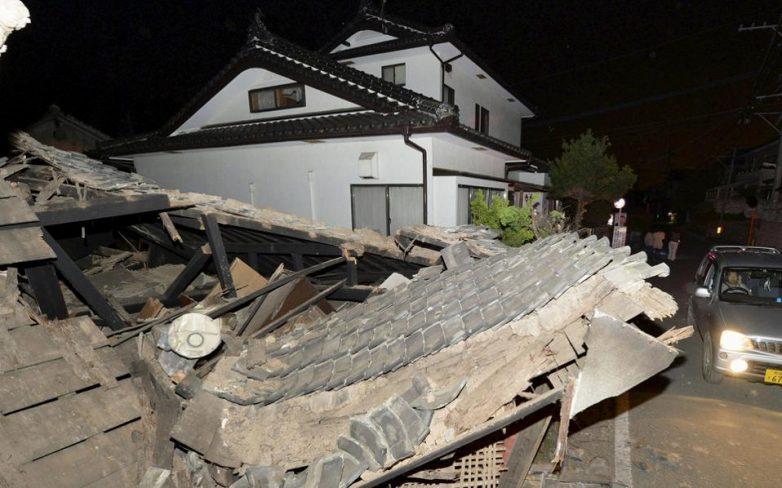 Ιαπωνία: Νεκροί και εκατοντάδες τραυματίες από σεισμό 6,5 R