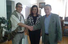 Δωρεά οφθαλμιατρικού μηχανήματος   στο Δήμο Βόλου από Γάλλο Φιλέλληνα