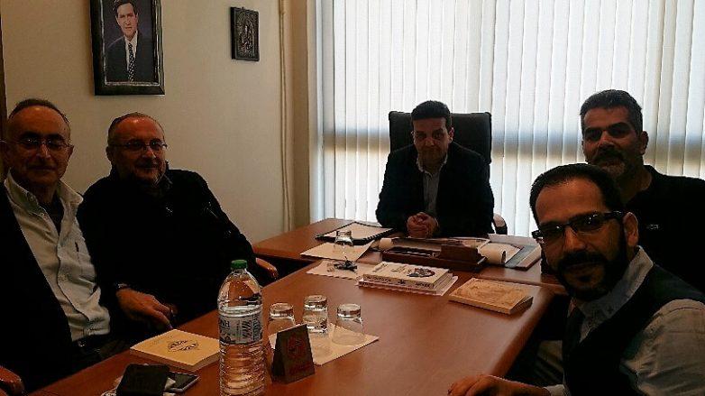Συνάντηση γνωριμίας Ε.ΠΑ.Μ. Θεσσαλίας  με τον Εμπορικό Σύλλογο Βόλου