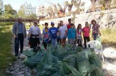 Toν Κραυσίδωνα καθάρισαν εθελοντικά μαθητές και γονείς