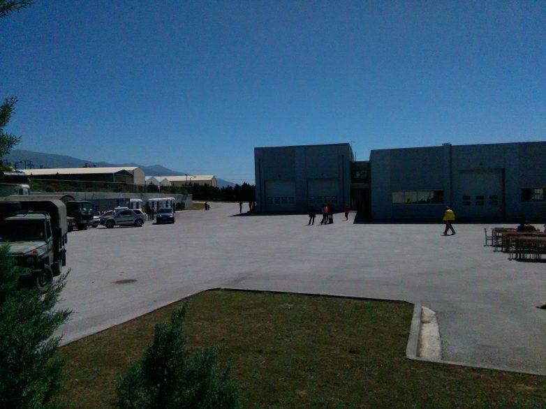 Άδειο το  κέντρο  φιλοξενίας προσφύγων Μόζας