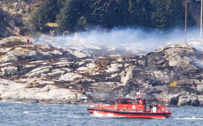 Συντριβή ελικοπτέρου με νεκρούς στα ανοιχτά των δυτικών ακτών της Νορβηγίας