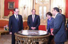 Γαλλία και Αίγυπτος υπέγραψαν συμφωνίες 2 δισ.
