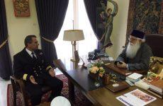 Επίσκεψη του νέου Περιφερειακού Διοικητού Λιμενικού Σώματος στον Μητροπολίτη Δημητριάδος κ. Ιγνάτιο
