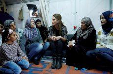 Στη Λέσβο η βασίλισσα της Ιορδανίας Ράνια