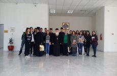 Μαθητές της Ριζαρείου Εκκλησιαστικής Σχολής στον Μητροπολίτη Δημητριάδος & Αλμυρού