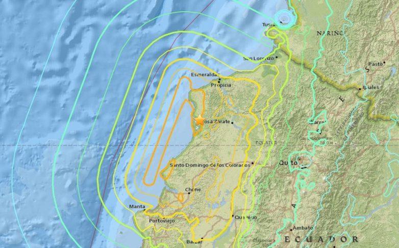 Ισημερινός: Εκατοντάδες νεκροί και τραυματίες από τον σεισμό 7,8 R