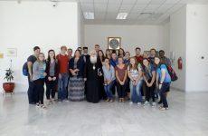 Σπουδαστές από την Πολιτεία της Νεμπράσκα Αμερικής και το Αγρίνιο στον Μητροπολίτη Δημητριάδος