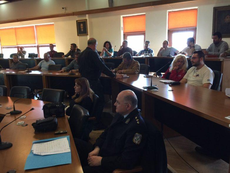 Συνεδρίαση του ΣΤΟ  Βόλου ενόψει της αντιπυρικής περιόδου