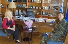 Εθιμοτυπική επίσκεψη στην αντιπεριφερειάρχη Μαγνησίας