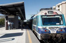 Ματαιώσεις στα δρομολόγια των τρένων