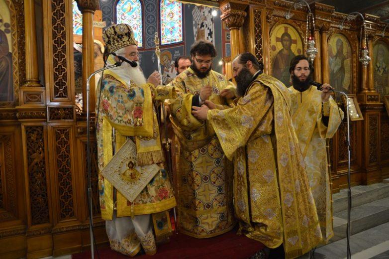 Νέος διάκονος στην Ιερά Μητρόπολη Δημητριάδος