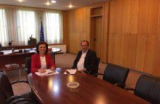 Συνάντηση υφυπουργού ΥΠΟΜΕΔΙ  με τον δήμαρχο Ζαγοράς- Μουρεσίου