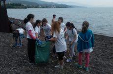 Την παραλία  της Νέας Αγχιάλου καθάρισαν μαθητές