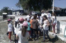 Μαθητές καθάρισαν την Χρυσή  Ακτή  Παναγίας