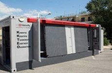 Κινητή  μονάδα  τεχνικού ελέγχου οχημάτων στις Β. Σποράδες