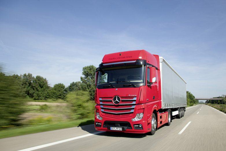 Τέλος στην κυκλοφορία φορτηγών παραπλεύρως των εθνικών οδών