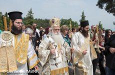 Στην Ιερά Μονή Δοβράς Βεροίας ο Μητροπολίτης Ιγνάτιος