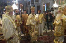 Τιμήθηκε στο Βόλο η μνήμη των Αγίων Κωνσταντίνου και Ελένης