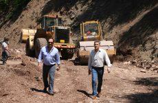 Στη συντήρηση του οδικού δικτύου της Αργιθέας προχωρά η Περιφέρεια Θεσσαλίας