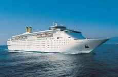 "Tο κρουαζιερόπλοιο ""Costa Neoclassica"" έδεσε στο Βόλο"