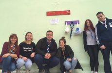 O τοίχος της καλοσύνης των δασοπροσκόπων Βόλου