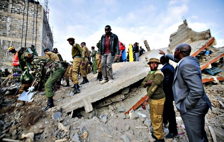 Στους 16 οι νεκροί από την κατάρρευση κτιρίου στο Ναϊρόμπι