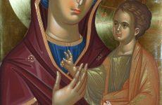 Η Ιερά Εικόνα της Παναγίας Γοργοϋπηκόου εκ  Σμύρνης στην Ανάληψη