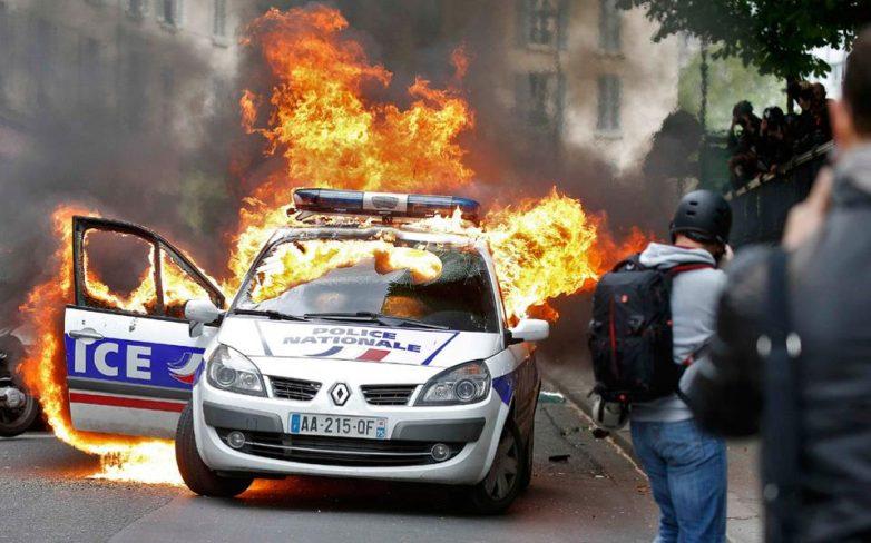 Γαλλία: Σοβαρά επεισόδια σε διαδήλωση