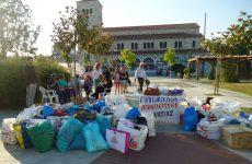 Ανταπόκριση του κόσμου στο κάλεσμα αλληλεγγύης για τους πρόσφυγες