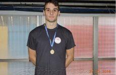 Βαλκανιονίκης με την Εθνική Ομάδα ο κολυμβητής Γιάνης Στάμος