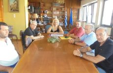 Στην αντιπεριφερειάρχη Μαγνησίας οι ελαιοπαραγωγοί Πτελεού