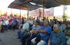 Με μεγάλη συμμετοχή η εκδήλωση στο Καζανάκι