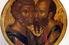 Μνήμη των Πρωτοκορυφαίων Αποστόλων Πέτρου και Παύλου