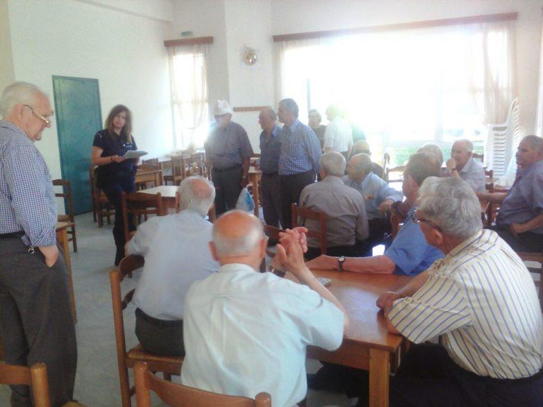 Καμπάνια ενημέρωσης πολιτών από αστυνομικούς στη Θεσσαλία