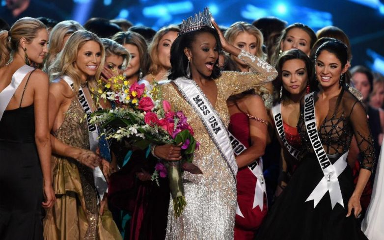 Η στρατιωτίνα Bashauna Barber Miss USA 2016