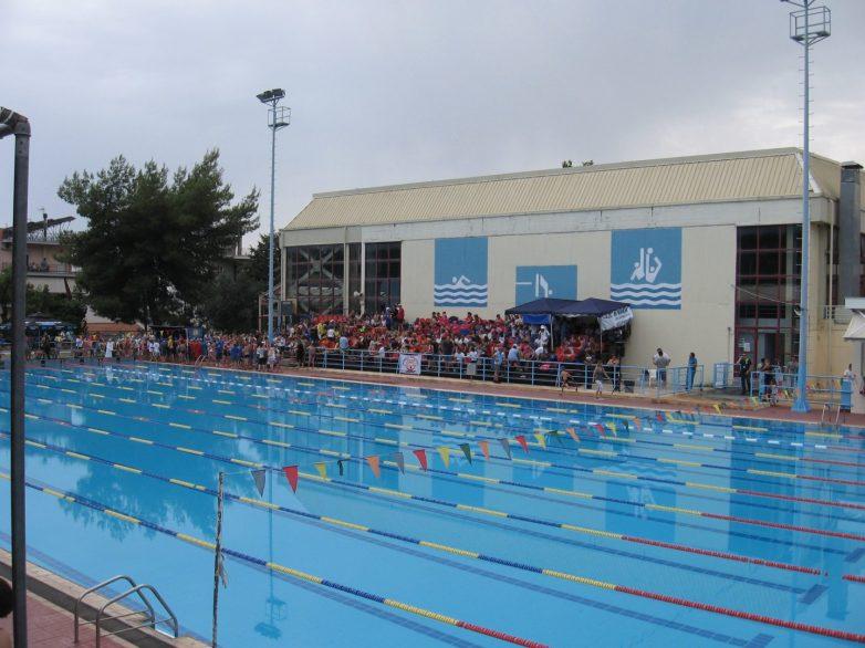 Παρεμβάσεις στο Εθνικό Κολυμβητήριο Βόλου
