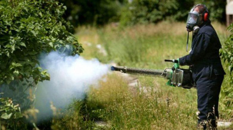 Εφαρμογή του προγράμματος καταπολέμησης κουνουπιών